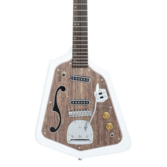 Eastwood Guitars California Rebel - Vintage 1960's Domino -inspired electric guitar - White - NEW!
