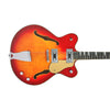 Eastwood Guitars Classic 12 Fireburst Closeup