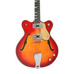Eastwood Guitars Classic 12 Fireburst - 12-string Semi Hollowbody Electric Guitar - NEW!