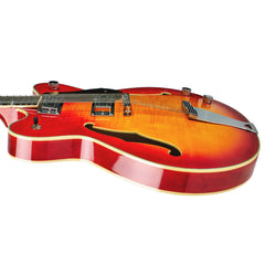 Eastwood Guitars Classic 12 - 12-string Semi Hollowbody Electric Guitar - Fireburst - NEW!