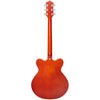 Eastwood Guitars Classic 6 Orange Full Back