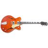 Eastwood Guitars Classic 6 Orange Angled