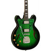 Eastwood Guitars Custom Kraft DLX Greenburst Left Hand Featured