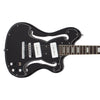 Eastwood Guitars Deerhoof EEG Black on Black Closeup