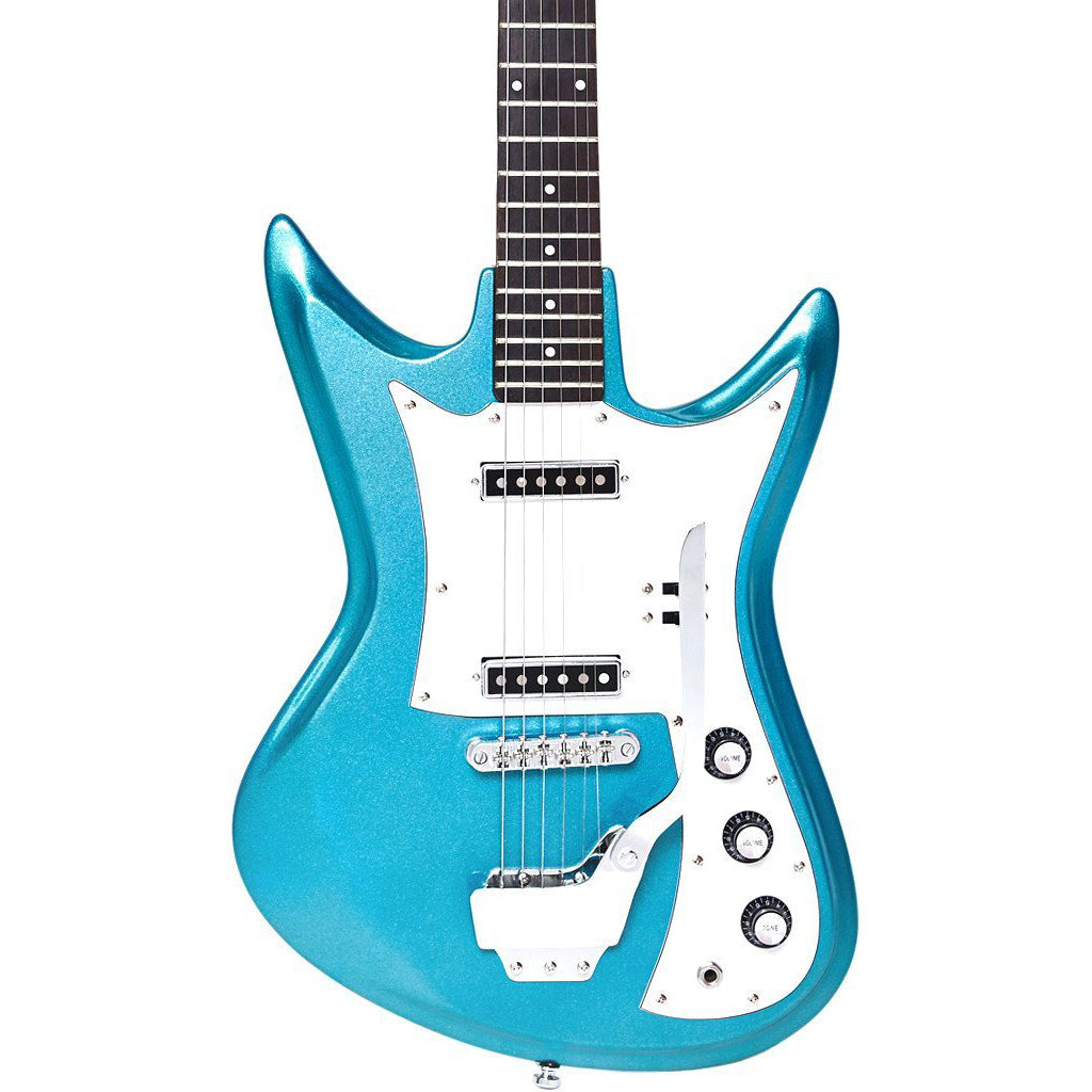 Eastwood Guitars Ichiban K2-L - Metallic Blue - Teisco style Electric Guitar - NEW!