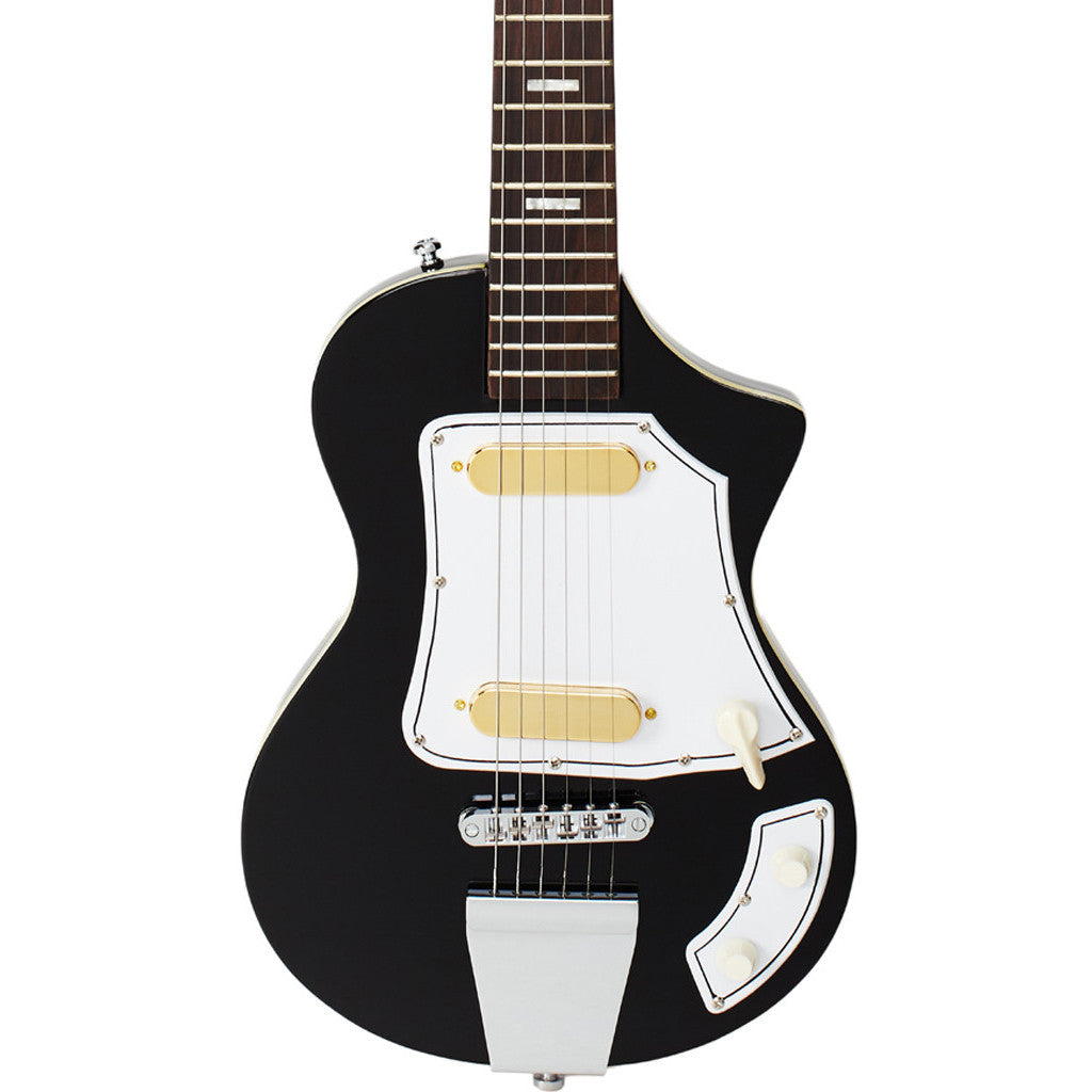 Eastwood Guitars LG-50 - Black - Feather Tribute / Reissue - NEW!