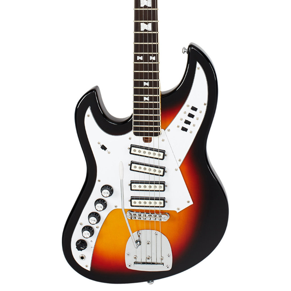 Attractive four pickup guitar images best images for wiring eastwood guitars norma eg 521 4 lefty sunburst left handed cheapraybanclubmaster Image collections