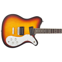 Eastwood Guitars Sidejack 300 - Tobacco Sunburst - Mosrite Tribute Model Electric Guitar - New!