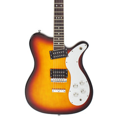 Eastwood Guitars Sidejack 300 Mosrite Tribute Model Electric Guitar - Tobacco Sunburst - New!