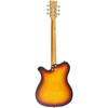 Eastwood Guitars Sidejack 300 Tobacco Burst Full Back