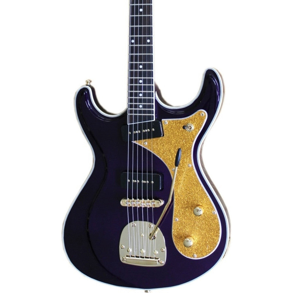Eastwood Guitars Sidejack DLX - Mardi Gras - Deluxe Mosrite-inspired Offset Electric Guitar - NEW!