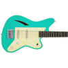 Eastwood Guitars Surfcaster Bass Seafoam Green Closeup