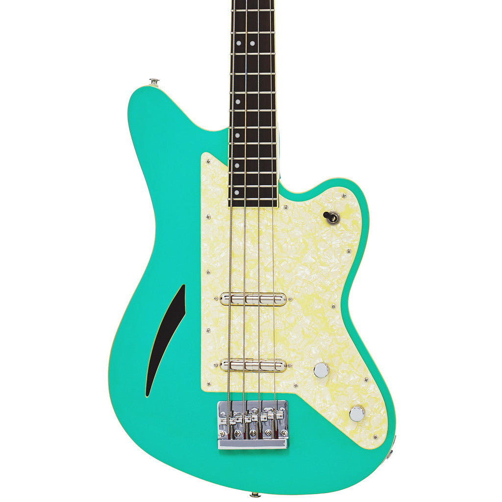 Eastwood Guitars Surfcaster Bass Seafoam Green Featured