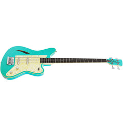 Eastwood Guitars Surfcaster Bass - Seafoam Green - Offset Electric Bass Guitar - NEW!