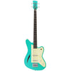 Eastwood Guitars Surfcaster Bass Seafoam Green Full Front