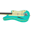 Eastwood Guitars Surfcaster Bass Seafoam Green Player POV