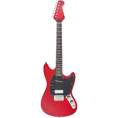 "Eastwood Guitars Warren Ellis 6 - Cherry - 23"" Short Scale Electric Guitar - NEW!"