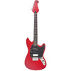 Eastwood Guitars Warren Ellis 6 Dark Cherry Full Front