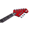 Eastwood Guitars Warren Ellis Mandocello Cherry Headstock
