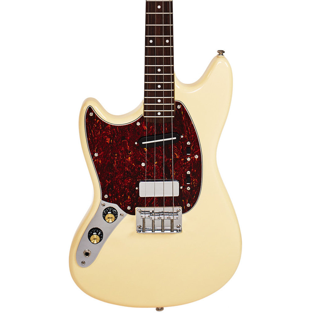 Eastwood Guitars Warren Ellis Signature Tenor 2P - Vintage Cream - Left Handed - NEW!