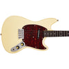 Eastwood Guitars Warren Ellis Tenor Vintage Cream Closeup