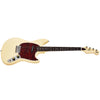 Eastwood Guitars Warren Ellis Tenor Vintage Cream Angled