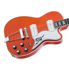 Airline Guitars Tuxedo - Copper - Hollowbody Vintage Reissue Electric Guitar - NEW!