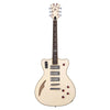 Eastwood Guitars Bill Nelson Astroluxe Cadet - Semi Hollowbody Electric Guitar - Vintage Cream / Ruy Red - NEW!