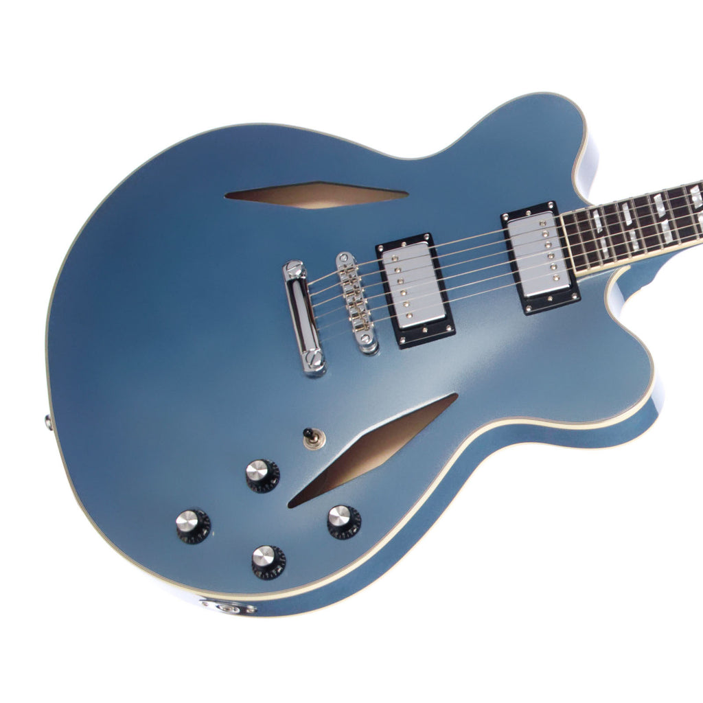 Eastwood Guitars Classic 6 HB-TL Pelham Blue - Trini Lopez / Dave Grohl-inspired Semi Hollow Body Electric Guitar - NEW!