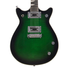 Eastwood Guitars Classic AC - Transparent Greenburst - Chambered Mahogany Electric Guitar - NEW!