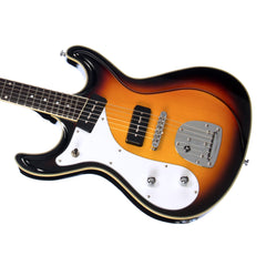 Eastwood Guitars Sidejack DLX Lefty - Sunburst - Deluxe Left Handed Mosrite-inspired Offset Electric Guitar - NEW!