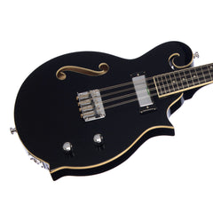 "Eastwood Guitars Mandola ""The Cosey"" - Black - Semi Hollow Electric Mandola - NEW!"