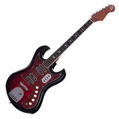 Eastwood Guitars SD-40 Hound Dog - Redburst - Hound Dog Taylor Kawai / Teisco -inspired Electric Guitar - NEW!
