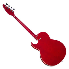 Eastwood Guitars Saturn IV - Semi Hollow Electric Bass Guitar - VOX Saturn-inspired Tribute Model - Cherry - NEW!