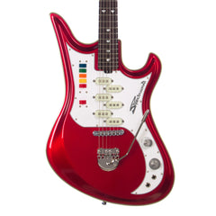 Eastwood Guitars TDR Series Spectrum 5 PRO - Metallic Red - Teisco Tribute Model Offset Electric Guitar - NEW!