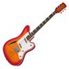 Eastwood Guitars Surfcaster - Cherryburst -  Flame Top Offset Electric Guitar - NEW!