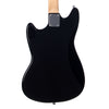 "Eastwood Guitars Warren Ellis Bass - Black - 30 1/2"" Short Scale Offset Electric Bass Guitar - NEW!"