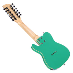 "Eastwood Guitars Mandocaster 12 - Seafoam Green - High Tuned 12-string ""Octave Guitar"" - NEW!"