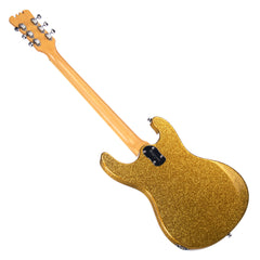 Eastwood of Canada Sidejack Pro DLX - Gold Metal Flake - Mosrite-inspired Offset Electric Guitar - NEW!