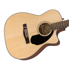 Fender CC-60SCE Natural - Solid Top, Concert Cutaway, Acoustic / Electric Guitar - 0961710021 - NEW!