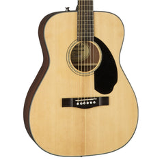 Fender CC-60S Natural - Solid Top Acoustic Guitar for Beginners, Students or Travel - 0961708021 - NEW!