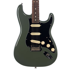 Fender American Professional Stratocaster - Rosewood - Antique Olive - Electric Guitar