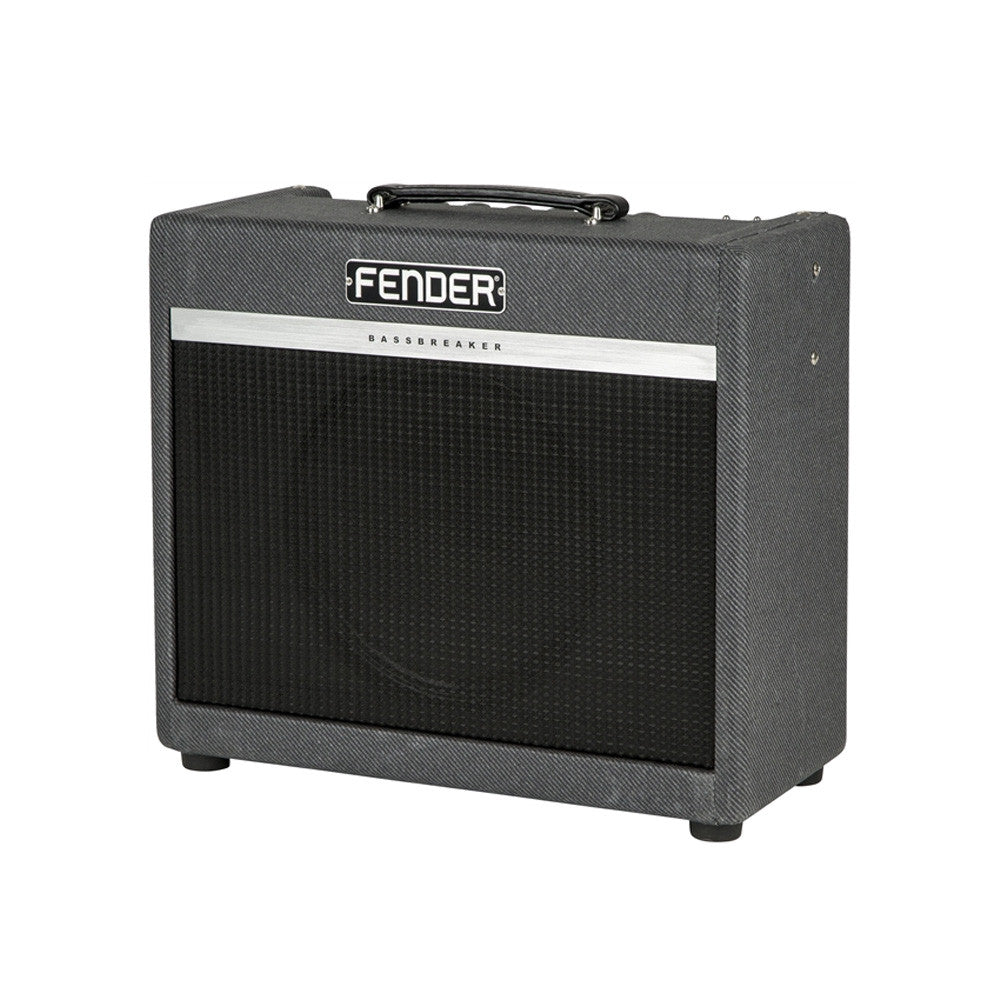 fender amps bassbreaker 15 watt 1x12 combo tube guitar amplifier make 39 n music. Black Bedroom Furniture Sets. Home Design Ideas