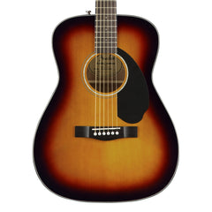 Fender CC-60S Sunburst - Solid Top Acoustic Guitar for Beginners, Students or Travel - 0961708032 - NEW!
