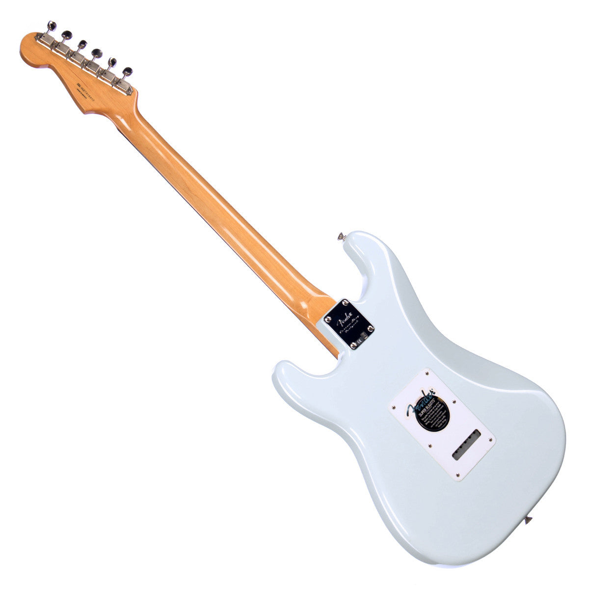 used fender classic player 60s stratocaster sonic blue electric g make 39 n music. Black Bedroom Furniture Sets. Home Design Ideas