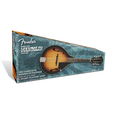 Fender Concert Tone A-style Mandolin pack - Beginner, Student, starter kit - New!