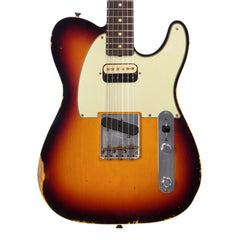 Fender Custom Shop 1-off 1960 Telecaster Custom Relic - Humbucker / Single Coil - Chocolate 3-Tone Sunburst - NEW!