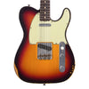 Fender Custom Shop 1960 Telecaster Custom Relic - Chocolate 3 Color Sunburst - Handwound Twisted Tele Pickups - NEW!