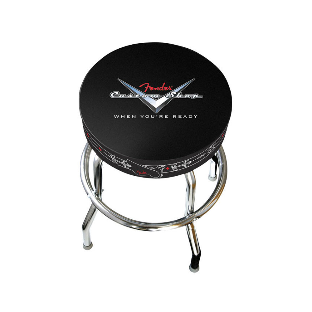 "Fender Custom Shop 24"" Pinstripe Barstool - 0990230020"