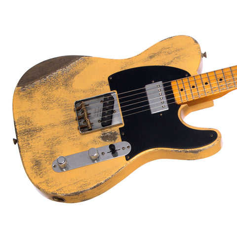 Fender Custom Shop MVP 1952 Telecaster HB Relic - Nocaster Blonde - Masterbuilt - Featherweight - Only 5.6lbs!!! Dealer Select Master Vintage Player Series